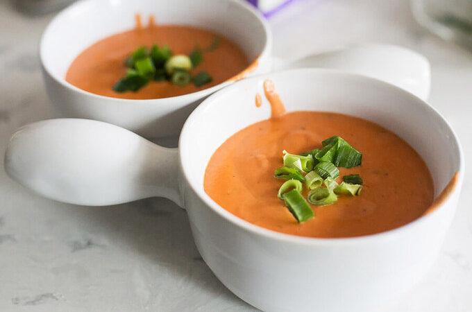 Кето Томатный суп